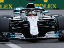 Hamilton wint bizarre race in Bakoe, Red Bull huilt