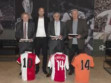 Ajax geeft condoleanceregister aan Jordi Cruijff