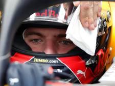 Perez het snelst in Monza, Verstappen zevende op natte baan