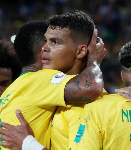 Brazilië zet Servië simpel opzij en treft nu Mexico